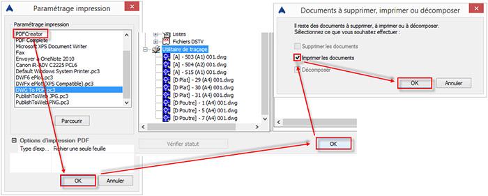 Comment convertir ses plans Advance Steel en fichiers PDF avec PDF Creator?