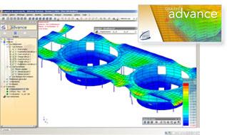 Advance Structure : logiciel de calcul de structure aux �l�ments finis professionnel