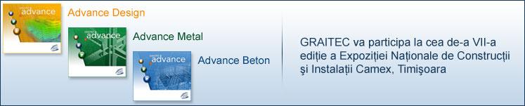 Graitec va participa la cea de-a VII-a ediţie a Expoziţiei Naţionale de Construcţii şi Instalaţii Camex Timişoara