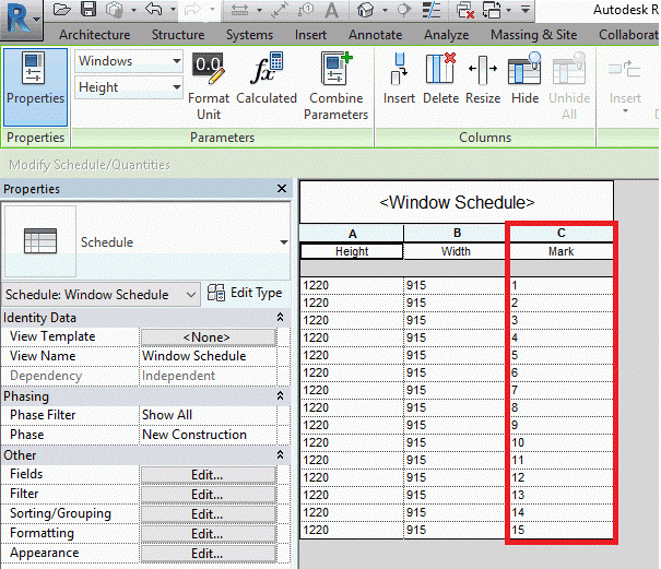 PowerPack for Revit Link to Excel