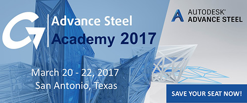 Take your steel detailing to the next level with the Autodesk® Advance Steel Academy!