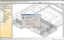 Advance Design: Конкурентные сетки конечных элементов и расчет