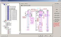 Advance Steel имеет встроенный Document Manager