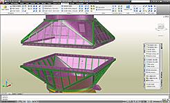 Advance Steel: автоматическое создание мастерской и чертежей общего расположения, автоматически маркируются и размеры, полностью настраиваемым интерфейсом