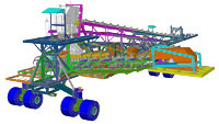 Autodesk Advance Steel provides the user with a large library of structural elements
