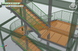 Advance Steel: Stairs - Quick and easy