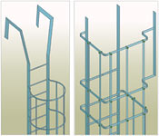 Autodesk Advance Steel : Cage ladders