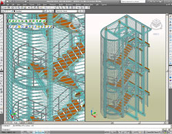 Autodesk Advance Steel: Stairs - Quick and easy