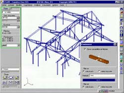 Analysis of a timber structure with Effel Timber Design module