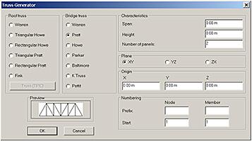 Antecedência Design America | Ponte Solution - Geradores: Trusses