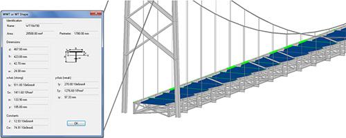Antecedência Design America | Ponte de Soluções - Materiais e secções transversais
