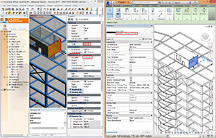 The name for a planar element is imported correctly into Autodesk Revit 2015