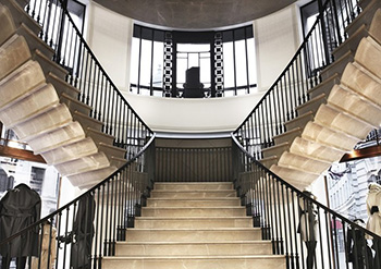 Burberry Nose Stair, London, UK