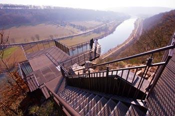 Observation Deck 'Weser-Skywalk', Höxter, Germany