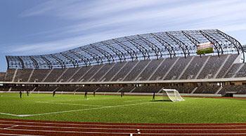 Stade de l'Arène de Cluj , Cluj-Napoca, Roumanie