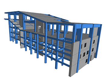 Supraetajare Laborator Hidraulica UTCB