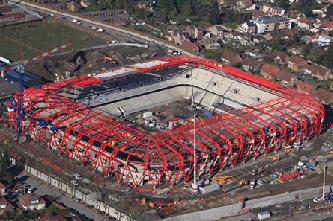 Stadion in Valenciennes, Valenciennes, Frankreich