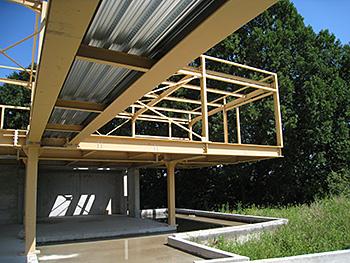 Locuinţă cu structură metalică, Franţa