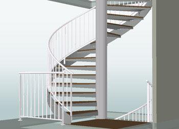 Spiral Staircase, Urmatt, France