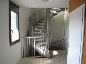 Escalier hélicoïdal,  Urmatt, France