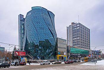 Public building «Flower», Novosibirsk, Russia
