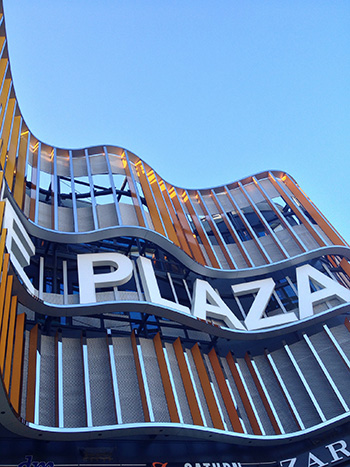 Centrul comercial Skyline Plaza, Frankfurt, Germania