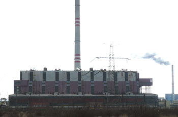 Reconstruction of Prunerov II Power Plant, Prunerov, Czech Republic