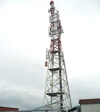 Stâlp pentru antenă Radio-TV, Mieroszów, Polonia