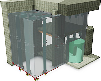 Bank House Glass Box Project