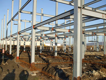 Hală industrială Chempro, Râmnicu Vâlcea, România