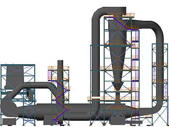 Industrianlage, Ostküste, USA