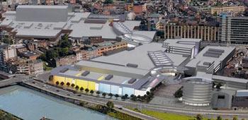 Centrul comercial Mediacité, Liège, Belgia
