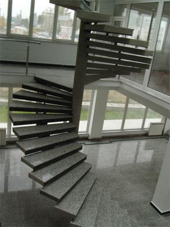 Interior stairs; Râmnicu Vâlcea, Romania