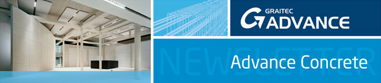 GRAITEC Advance Concrete newsletter Juni 2010
