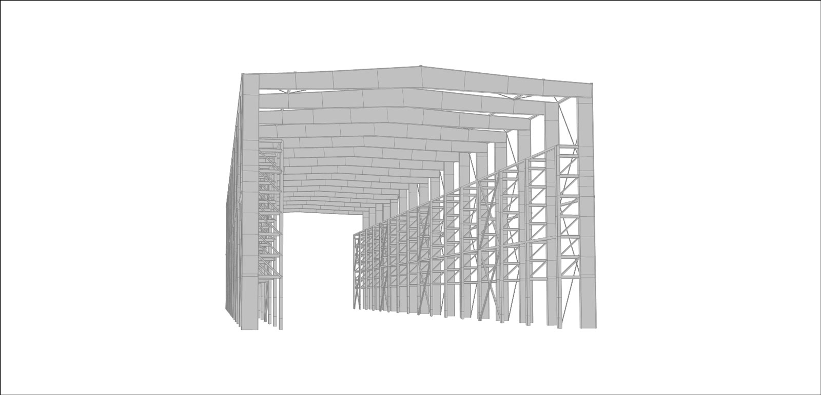 Pipe Storage Building for Hampton Building Systems Inc.