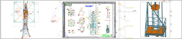 Stock-taking project of transmission tower - height 28 M