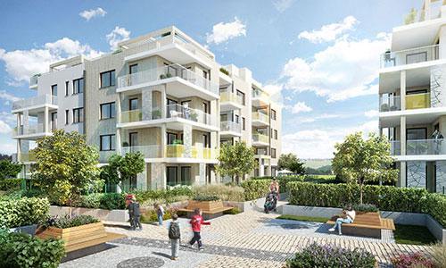 Nové Chabry Residential House, CZ