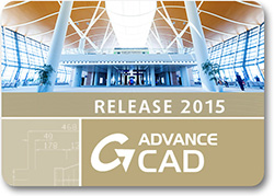 Advance CAD:  2D/3D software dedicated to the AEC industry