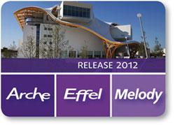 Nouveautés de la version 2012 des logiciels Arche, Effel et Melody