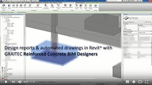 Automating rebar documentation (Design reports and Drawings) in Revit with the Reinforced Concrete BIM Designers