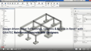 The power of GRAITEC Reinforced Concrete BIM Designers for Revit