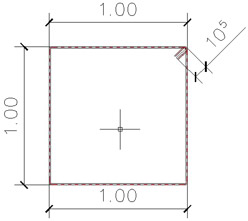 How can I calculate the bar length in Advance Concrete