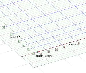 Cum definesc in Advance Design o grila de axe