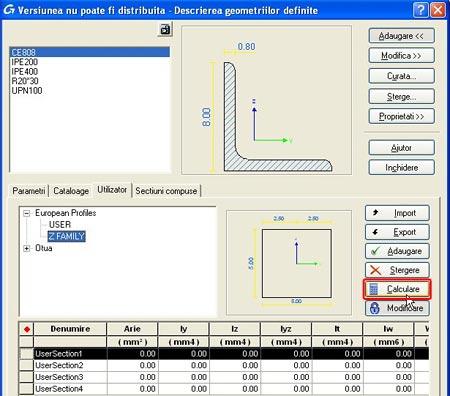 Cum se realizează optimizarea automată a secţiunilor utilizator