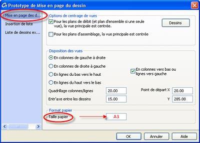 Comment faire en sorte que le nom de fichier des plans soit toujours correct