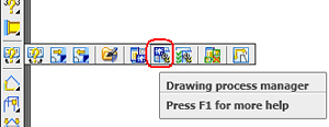 How can the drawing filename definition be changed in a detailing process