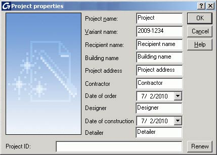 How can I use project data in title blocks and in lists