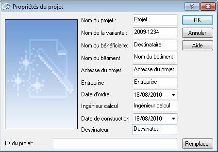 Comment utiliser les données du projet dans les cartouches et nomenclatures