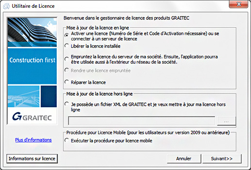 Comment installer la nouvelle licence monoposte de Effel 2010