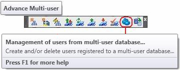 How are users managed in a multi-user environment